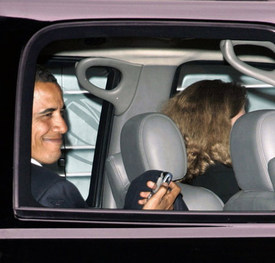 Barack Obama + Blackberry