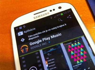 Aplikácia Google Music