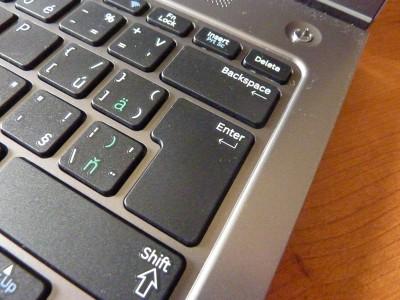 Laptop Samsung Series 5: Enter
