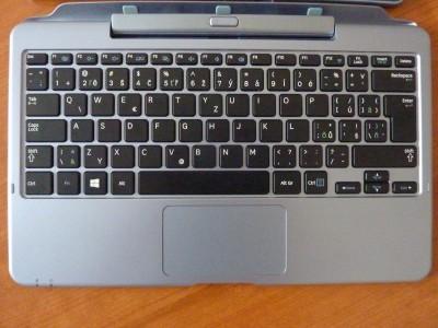 Samsung ATIV SmartPC: klávesnicový diel