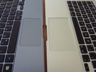 Samsung ATIV SmartPC: touchpady