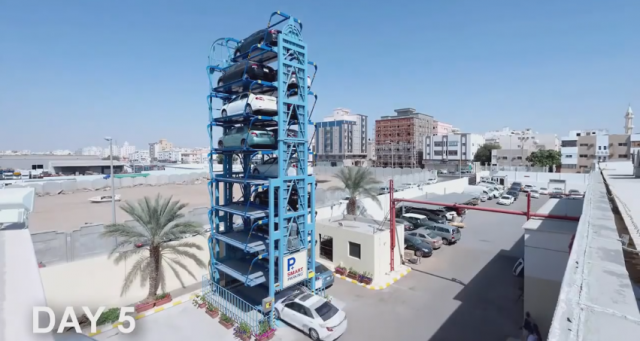 First-smart-parking-assembled-in-Saudi-Arabia-in-five-days